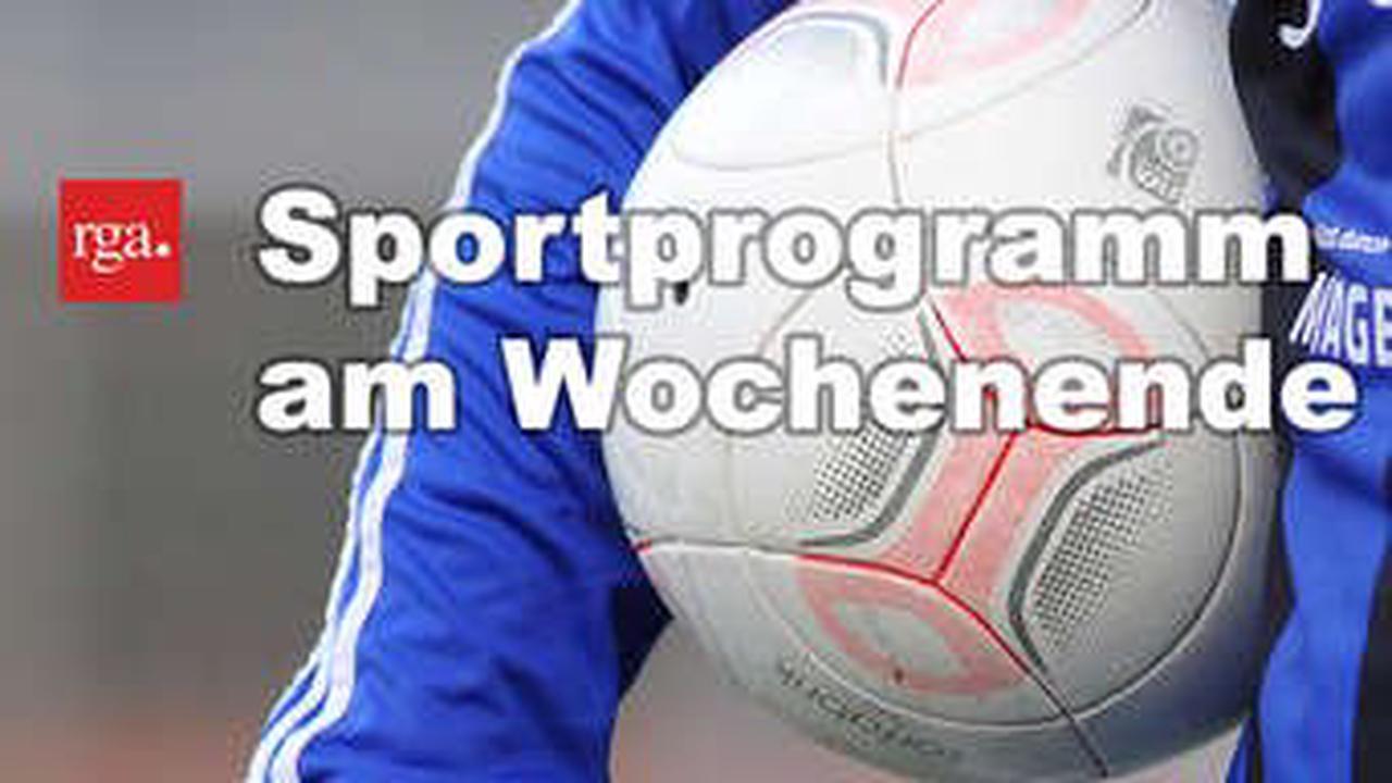 Sportprogramm am Wochenende