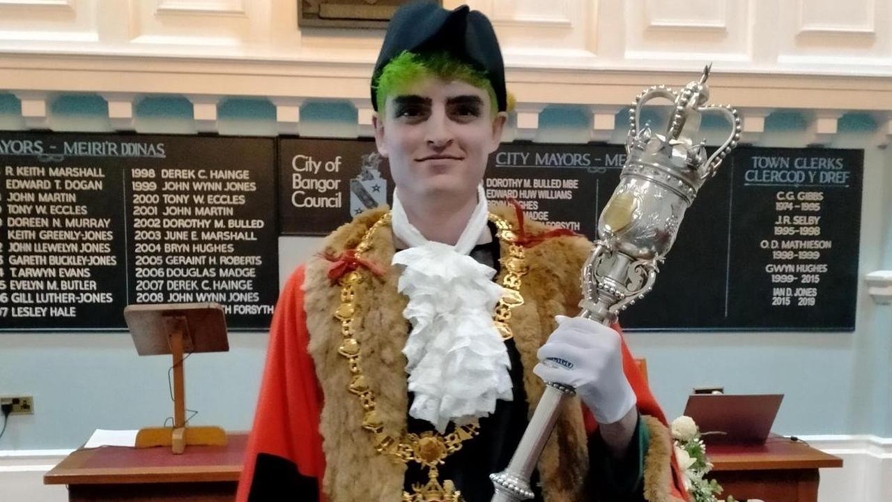 World first for Bangor's non-binary mayor