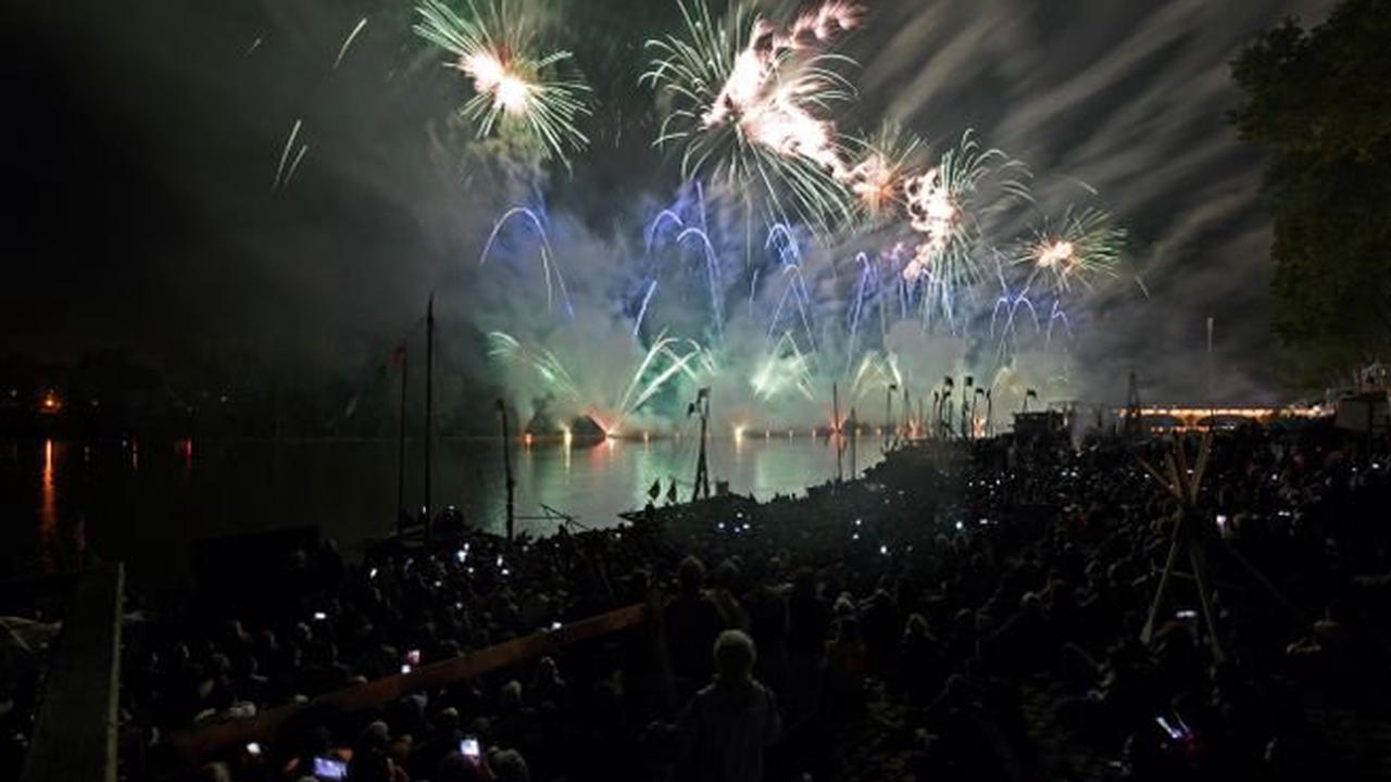Spectacle - Un drôle de feu d'artifice pour ce dixième Festival de Loire
