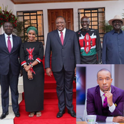 Rashid Abdalla's Reaction After Lulu Hassan Met President Uhuru, DP Ruto and Raila Stirs Debate