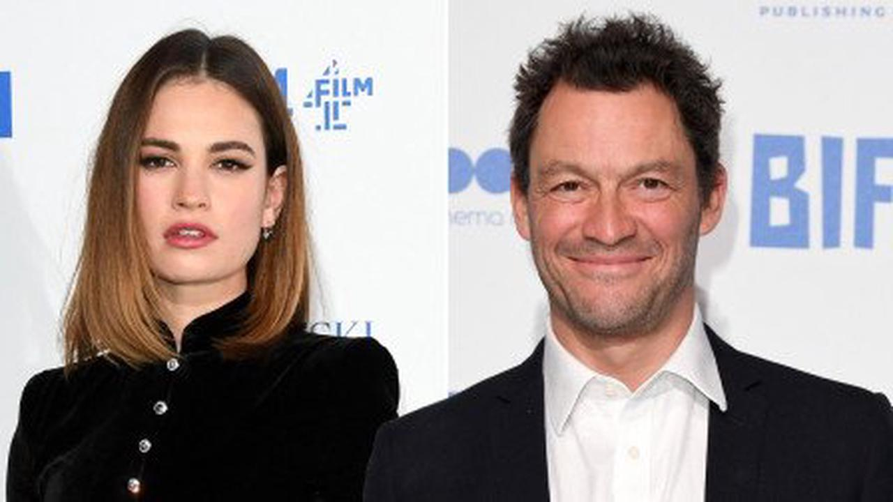 Dominic West 'concerned Lily James will speak out about those Rome pictures'