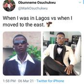 Photos Of Man After He Relocated From Lagos To East, Sparks Reactions On Social Media (Photos)