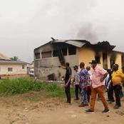 Abayi police station set ablaze in Aba, Abia State