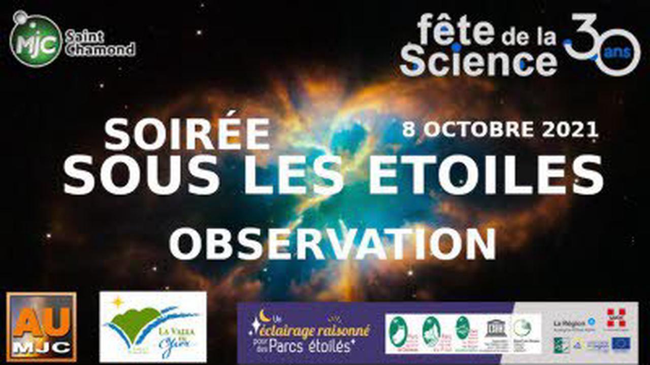Une soirée dans les étoiles : Rencontre, conférence à La Valla-en-Gier
