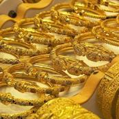 «انخفض عالمياً ومحلياً» اسعار الذهب تتراجع اليوم «وعيار21 يفقد توازنه».. والاهالي: «افضل وقت للشراء»
