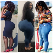 God is really Awesome, 25 Beautiful Pictures Of Curvy Ladies That Will Make You Praise God's Work.
