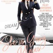 Meet Adebanke Olayiwola, The World's Greatest Female Pilots From Nigeria
