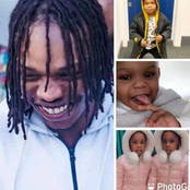 See Photos of Naira Marley 2 Wives and 4 Children. They Look So Adorable (Photos)