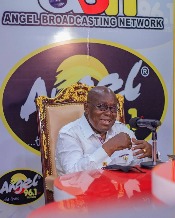 """96c80d6363993b774a260ef785b9e431?quality=uhq&resize=720 - """"Sign Of Victory"""": Mammoth Crowd Storm Angel FM Premises With A Gift To Akufo-Addo (Photos)"""