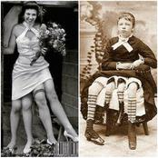 These 3 women will never be forgotten in history, one of them had 4 legs and 2 private parts
