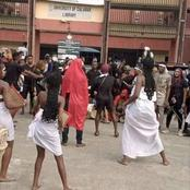 See How Students Of Theatre Arts Got Inducted At University Of Calabar