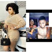 Reactions As A Mother Begged Bobrisky To Notice Her Son Who Has His Tattoo On His Body