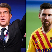 Joan Laporta reveals message from Lionel Messi after being elected Barcelona president