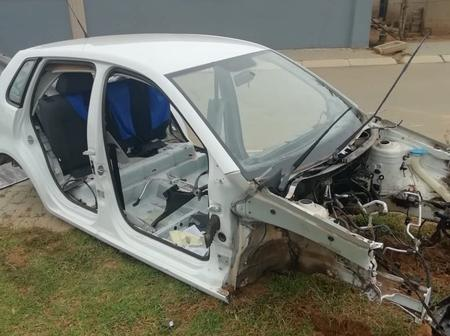 Must See: This Is How A Vehicle Was Found After A Few Hours Of Being Stolen From Heidelberg.