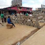 Bonoua se barricade derrière un mur érigé sur la voie internationale