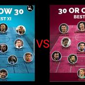 See List Of Best 11 Players Who Are Above 30 Years Versus Those Who Are Under 30 Years;Who Will Win?