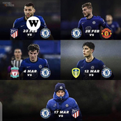 After Chelsea Defeated Athletico Madrid, Can They Win Their Next 4 Matches?