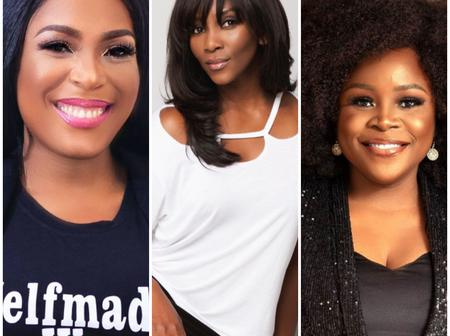 Top 4 Female Nigerian Celebrities Who Became Mother's Before Their Marriage. [Photos]