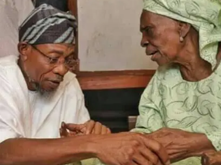 Photos Of Yemi Osibanjo, Aregbesola And Fashola With Their Mothers