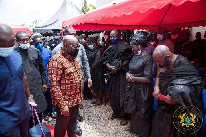 972bd3036b2fc096a26b4b27e2693b74?quality=uhq&resize=720 - President Akufo-Addo visits The Mfantseman MP's family home to mourn (Photos)