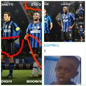 Fans notice this spelling on Inter Milan's jersey worn by Eto'o, Balotelli, Cafu and other players