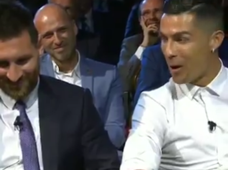 "Hilarious: ""We've Not Had Diner Yet.""; Ronaldo Says Of Lionel Messi. See Amazing Reactions It Got"