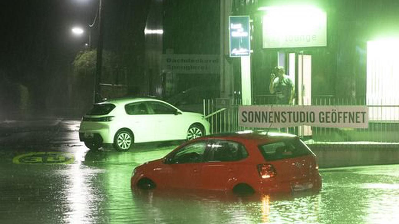 Überflutungen |Heftige Unwetter in ganz Österreich