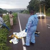 Pedestrian Got Killed In Verulam By The Car And Ran Away