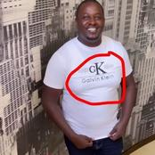 Netizen Reacts After Terrencecreative Rocked A Fake Calvin Klein T-shirt