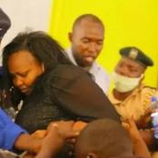 Milicent Omanga Causes Drama At The NCIC Offices For Being Kept Waiting