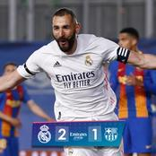 PLAYER RATINGS: See How Benzema, Modric, & Others Performed In Madrid's Win Over Barca