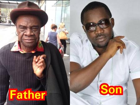 Igbo rapper Mr. Raw celebrates his dad as he turns a year older today, Check out his dad's photos
