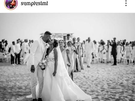 See Reactions As Singer Simi And Adekunle Gold Celebrates 2 Years Wedding Anniversary.