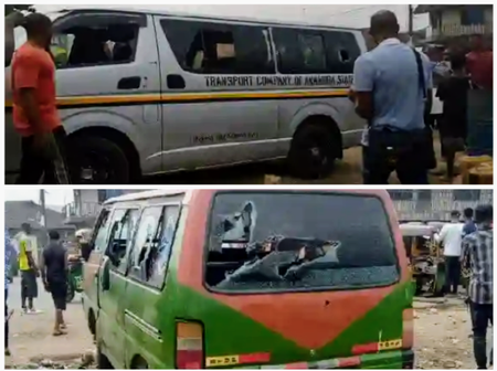 Tension in Aba as SWAT Allegedly Shoot Sporadically, Smash Cars