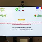 CNRA et URI font le point des projets financés dans le cadre du C2D au ministre Adama DIAWARA