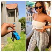 Slay Queen Celebrates A Major Milestone Of Buying Herself A House At Just The Age of 25.