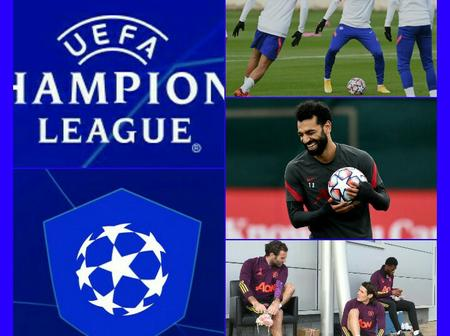 #UCL: See some amazing photos of this 3 EPL clubs in training ahead of their UCL games this mid-week