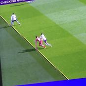 VAR strikes again, cancels Liverpool's equaliser in the first half for offside