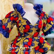 Mothers, Check Out This Beautiful And Colourful Ankara Blouses For You To Rock On Mother's Day
