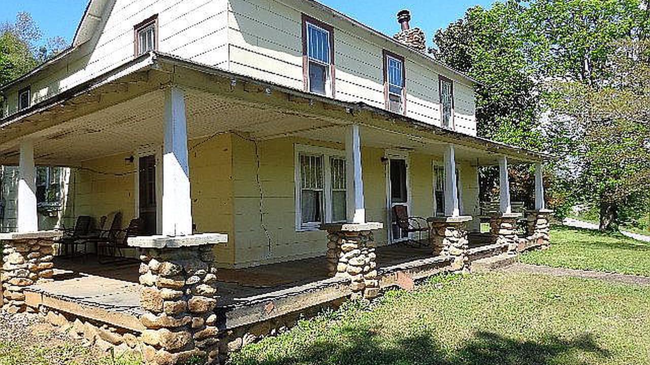 17 acres in NC with mountain views! Circa 1904. $169,900