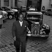 Photo rétro : Félix Houphouët Boigny, ministre français se rendant à l'Élysée de Paris en 1957