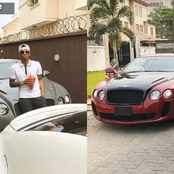 Check Out Some of The Luxurious and Expensive Cars In Tekno's Garage (Photos)