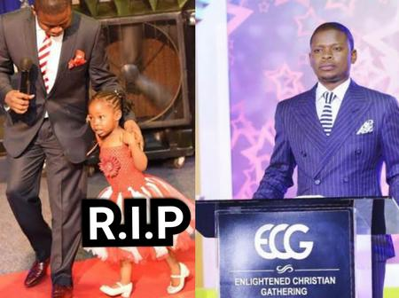 Read The Emotional Tribute Pastor Bushiri Wrote For His 8-Year-Old Daughter After She Died Today