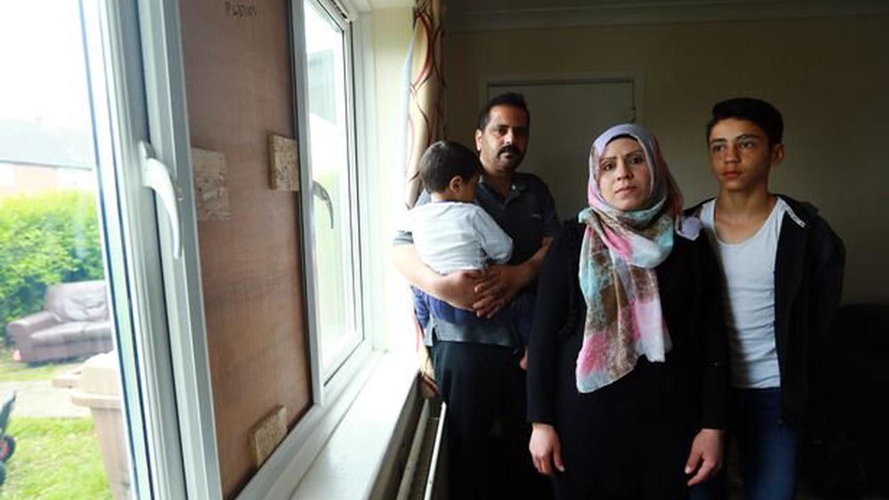 Wallsend family who fled war in Syria left 'terrified' after racial abuse and damage at their home