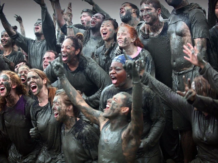 Country Where People Rub Themselves With Mud As A Festival Celebration (Photos)