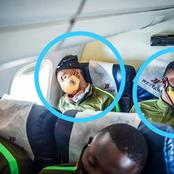 See what Kaizer Chiefs players were caught doing in an AEROPLANE after the game