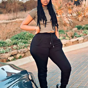 Meet Andiswa, The 16 Year Old African Girl Who Has Massive Hips And Curves Much Bigger Than Her Age.