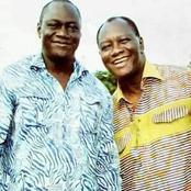 Voici la photo retro du Président ADO avec son frère Tiéné Birahima
