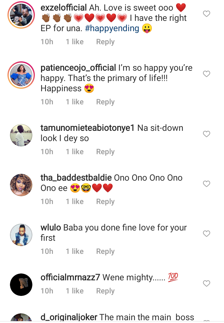 Duncan Mighty shares romantic pictures with his new partner, sparks mixed reactions 23