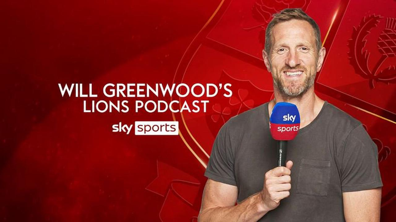 British and Irish Lions podcast: Attack coach Gregor Townsend joins Will Greenwood's podcast